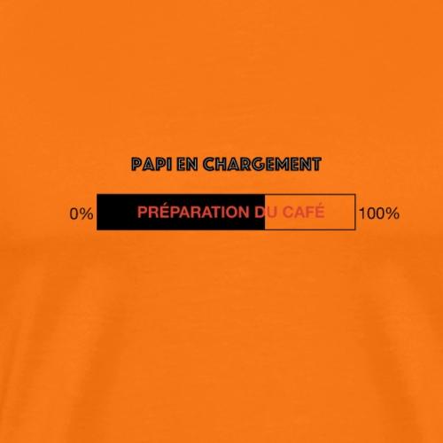 Papi en chargement - T-shirt Premium Homme
