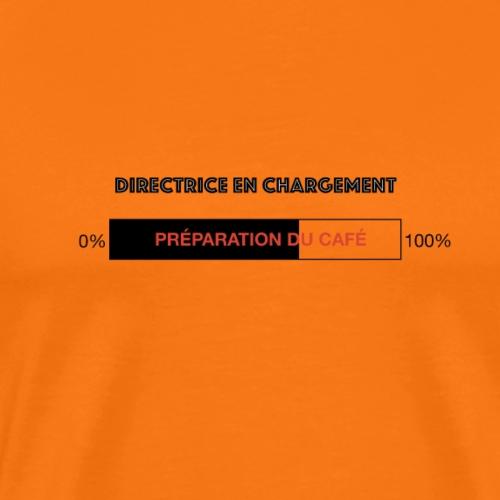 Directrice en chargement - T-shirt Premium Homme