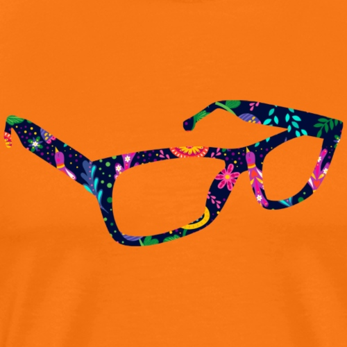 glasses - Premium-T-shirt herr