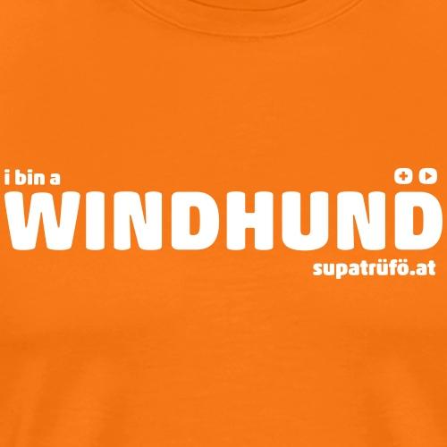 supatrüfö WINDHUND - Männer Premium T-Shirt