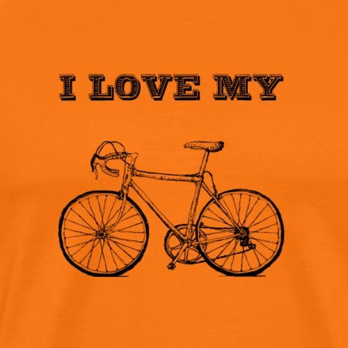 I love my bike - Männer Premium T-Shirt
