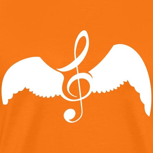Musique donne des ailes - T-shirt Premium Homme