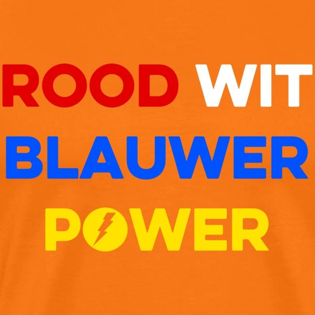 Rood Wit Blauwer Power