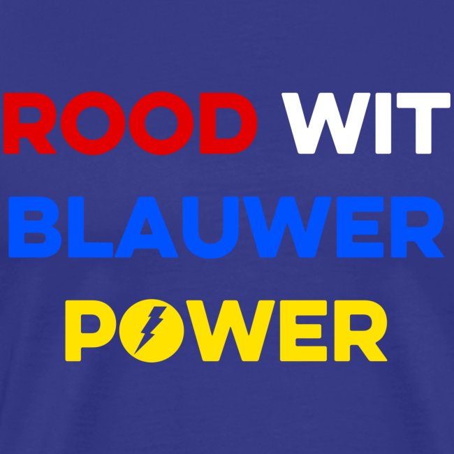 Rood Wit Blauwer Power