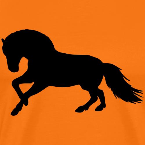 Fjordpferd Norweger Vektor Pony Pferd Geschenk - Männer Premium T-Shirt