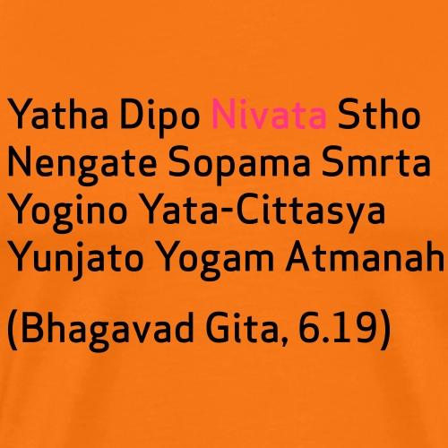 nivata_mantra - Männer Premium T-Shirt