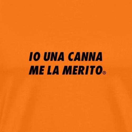 CANNA BLACK EDITION ORIGINAL LIMITED - Maglietta Premium da uomo