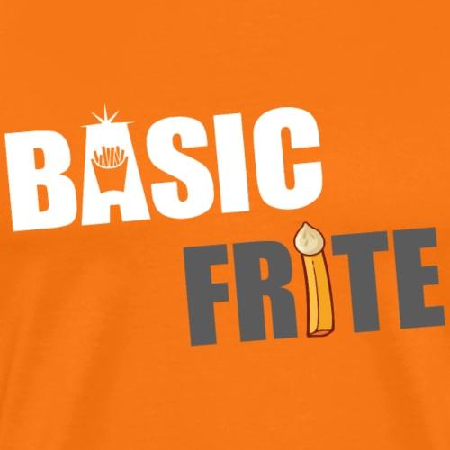Basic frite 1 - T-shirt Premium Homme