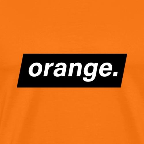 orange - T-shirt Premium Homme