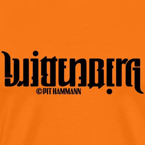 Ambigramm Wittenberg 01 Pit Hammann - Männer Premium T-Shirt