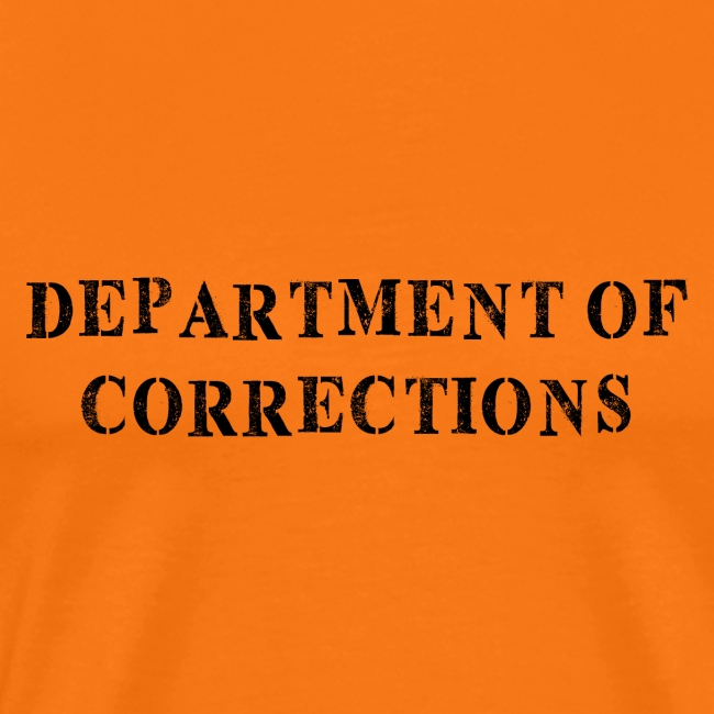 Department of Corrections - Prison uniform
