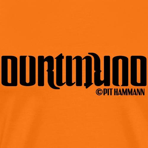 Ambigramm Dortmund 01 Pit Hammann - Männer Premium T-Shirt