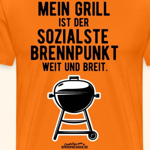 Grillshirt Mein Grill - Männer Premium T-Shirt