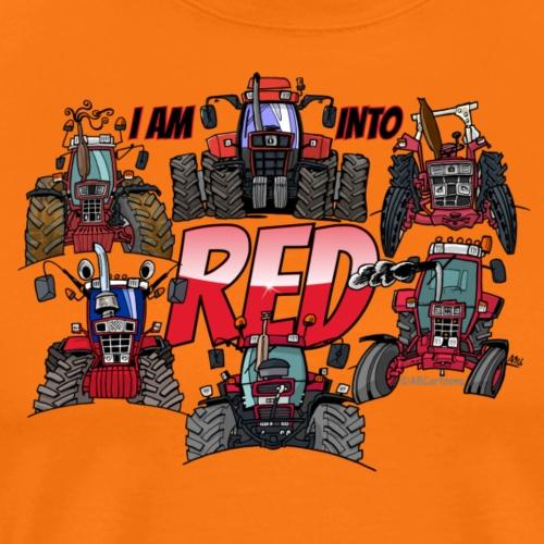 i am into red - Mannen Premium T-shirt