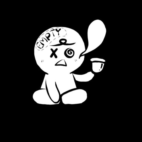 Empty brain - Premium-T-shirt herr