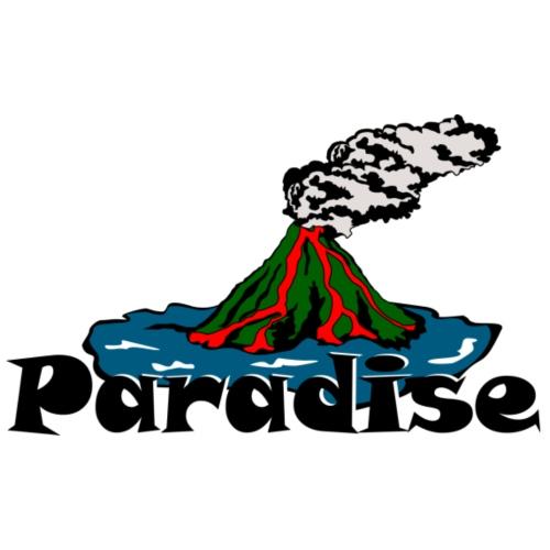 Volcano Paradise - Men's Premium T-Shirt