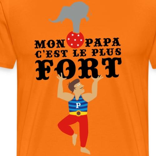 Fête des Pères - Meilleur papa du monde - T-shirt Premium Homme