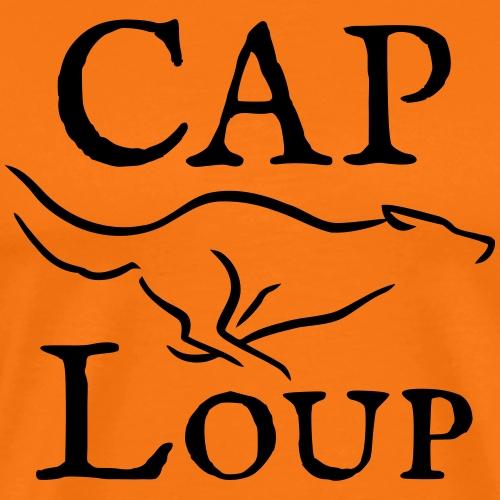 Logo CAP Loup - T-shirt Premium Homme
