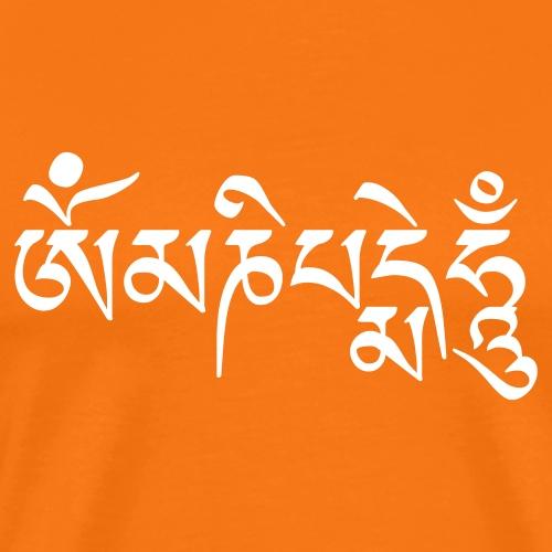 om_mani_peme_hum - Koszulka męska Premium