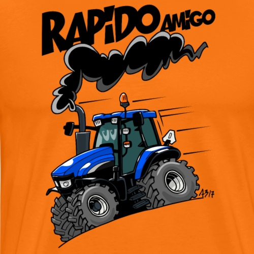 0616 NewHolland TM120 rapido - Mannen Premium T-shirt