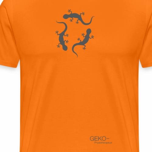 GEKO grau80 - Männer Premium T-Shirt