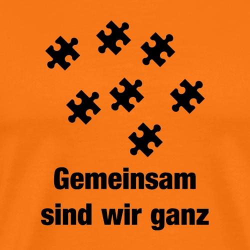 Gemeinsam ganz - Männer Premium T-Shirt
