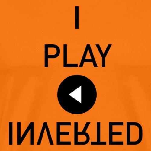 I play Inverted - Premium T-skjorte for menn