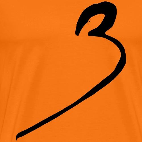 3 drei three number - Männer Premium T-Shirt
