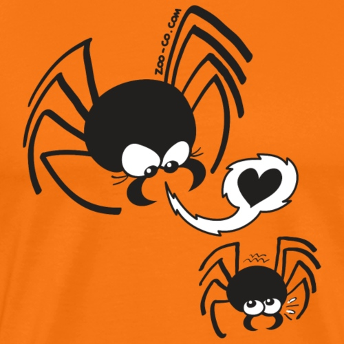 Dangerous Spider Love - Men's Premium T-Shirt