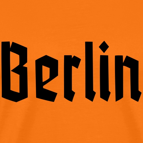 BERLIN Fraktur - T-shirt Premium Homme