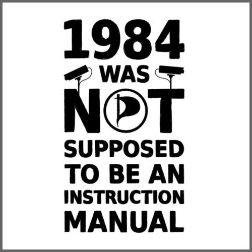 1984 - Miesten premium t-paita