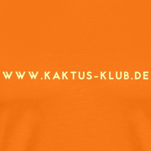 kaktus klub de - Männer Premium T-Shirt