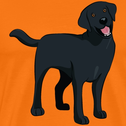 Beloved Black Labrador - Men's Premium T-Shirt