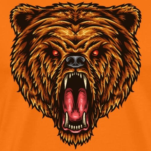 Die große Kraft des Bären - Männer Premium T-Shirt