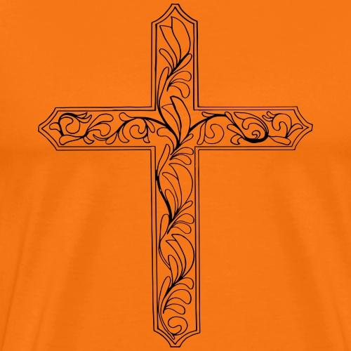 croix foi Christ Carême Religion Don - T-shirt Premium Homme