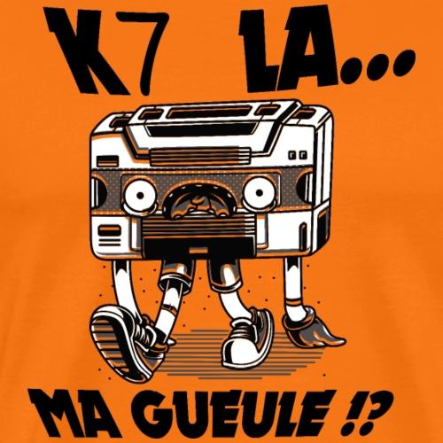 QU'EST CE QUELLE A MA GUEULE ? - T-shirt Premium Homme