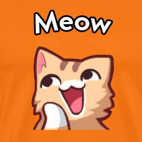 Cute Meow Cat - Männer Premium T-Shirt