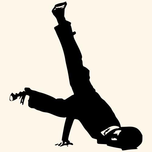 danse urbaine - T-shirt Premium Homme