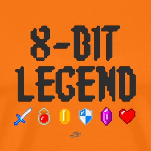 8-BIT LEGEND - Men's Premium T-Shirt
