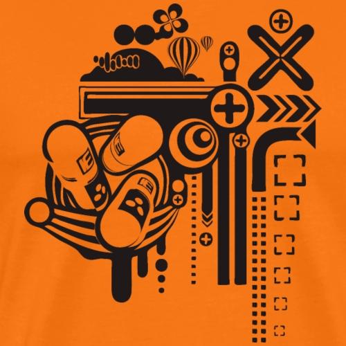 PSICODELIA - Camiseta premium hombre