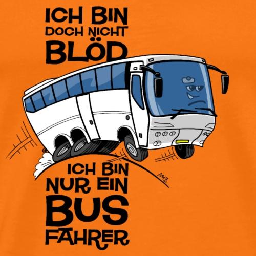 0710 ich bin nicht blod - Mannen Premium T-shirt