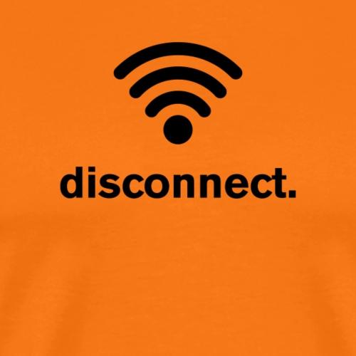 Disconnect (black) - Men's Premium T-Shirt