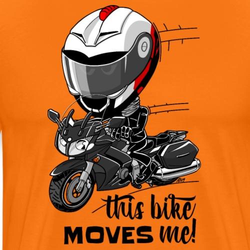 FJR1300 This bike MOVES me! - Mannen Premium T-shirt