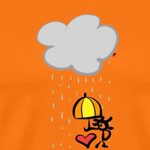 Kuoro con ombrello - Maglietta Premium da uomo