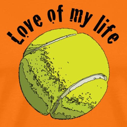tennislove1 - Männer Premium T-Shirt