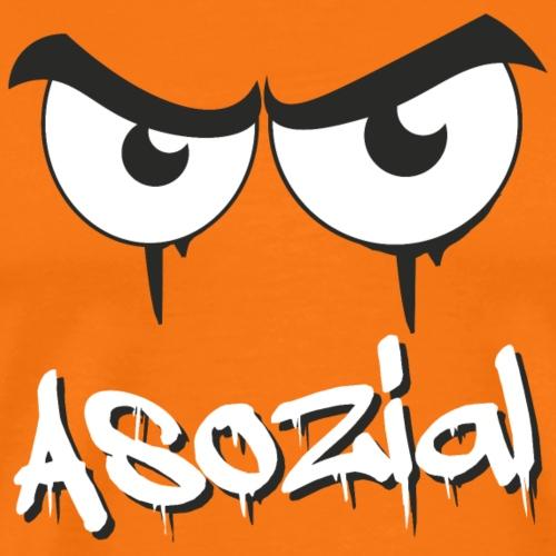 Asozial - Männer Premium T-Shirt