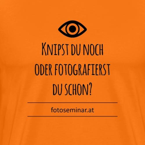Knipser? - Männer Premium T-Shirt