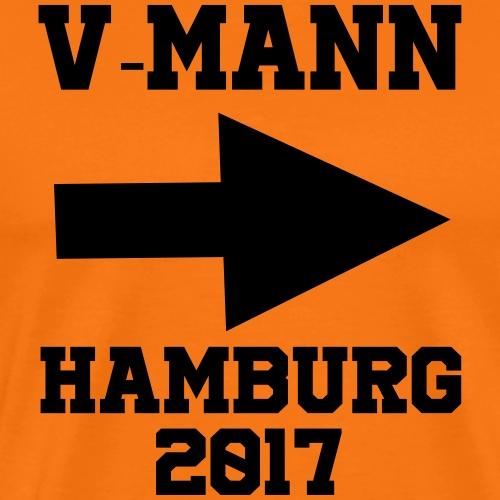 V-Mann Hamburg 2017 - Männer Premium T-Shirt