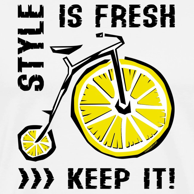 STYLE IS FRESH BICYCLE - Cool Textiles and Gifts