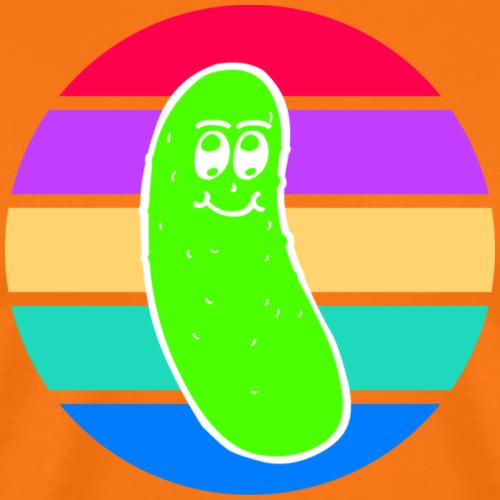 Vintage Colored Pickle #5 - Maglietta Premium da uomo